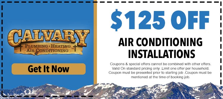 discount on air conditioning installations