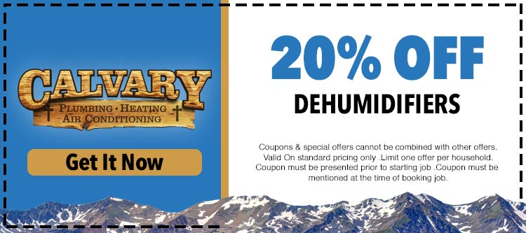 discount on dehumidifier