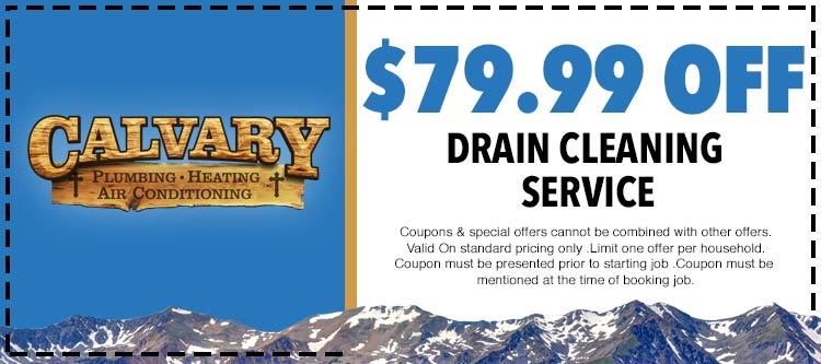 discount on drain cleaning services