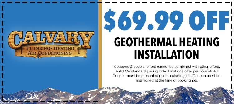 discount on geothermal heating installation services