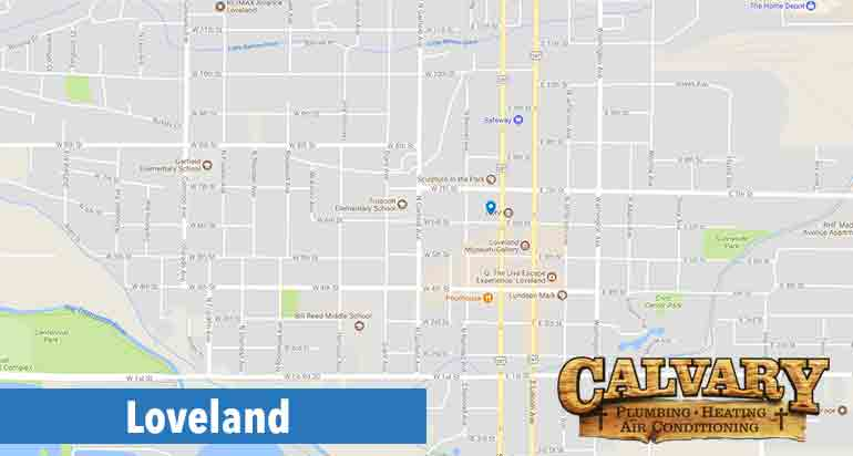 calvary plumbing, heating air conditioning services in loveland colorado