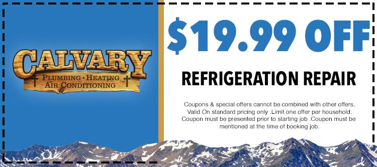 discount on refrigeration repair services
