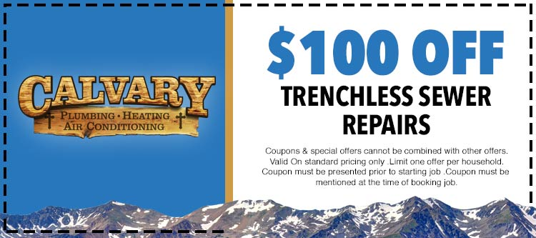 discount on trenchless repair services