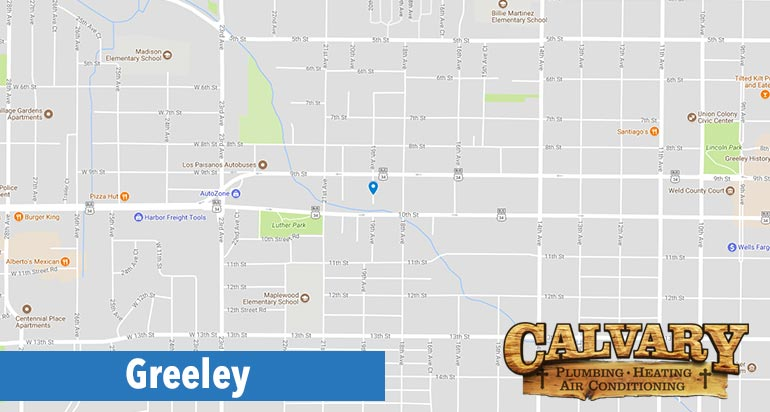 calvary plumbing, heating and air conditioning services in Greeley colorado