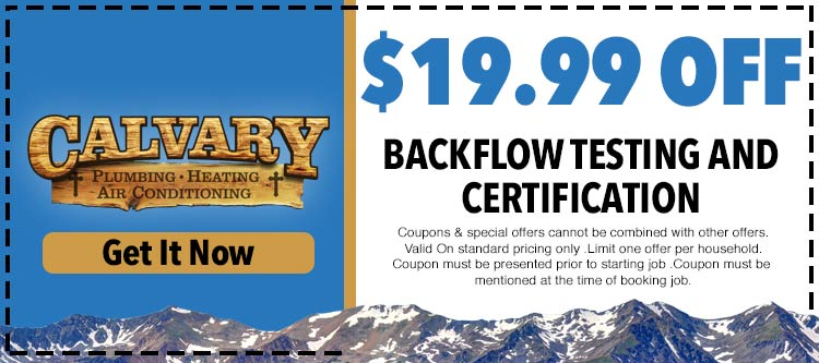 discount on backflow testing and certification services