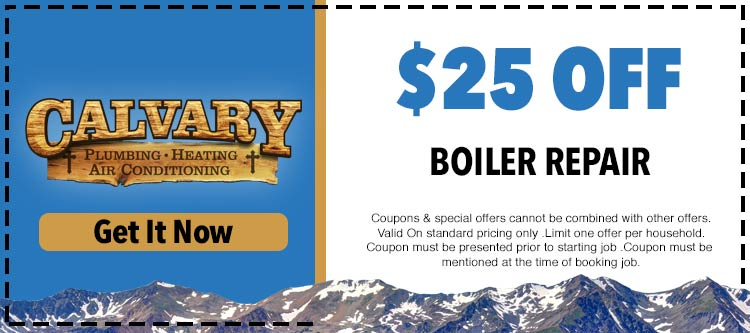discount on boiler repair and water heater replacement