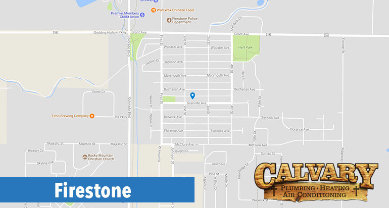 calvary plumbing, heating and air conditioning services in firestone
