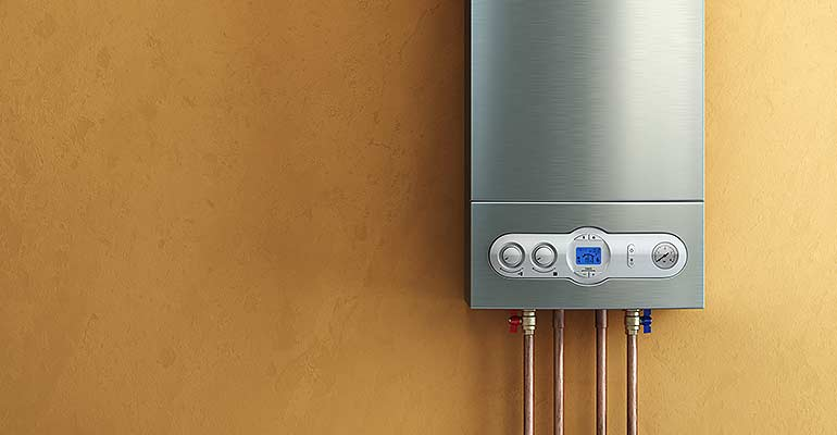 tankless water heater unit